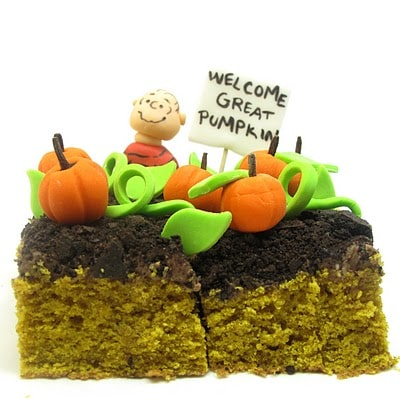 pumpkin patch cake