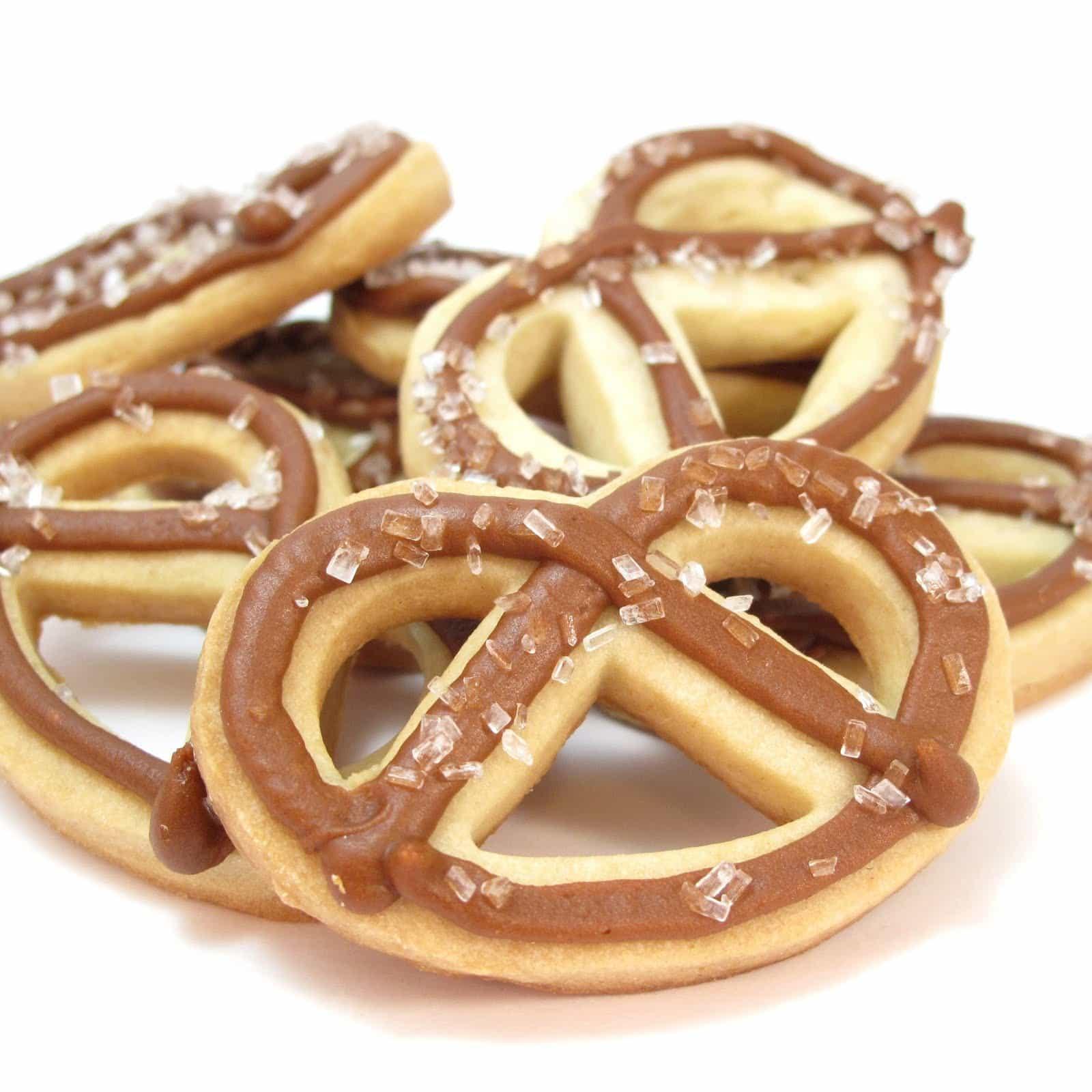 pretzel cookies - the decorated cookie