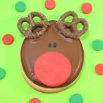 Rudolph cookies -- Decorated Christmas cookies #CookieDecorating #ChristmasCookies #RudolphCookies