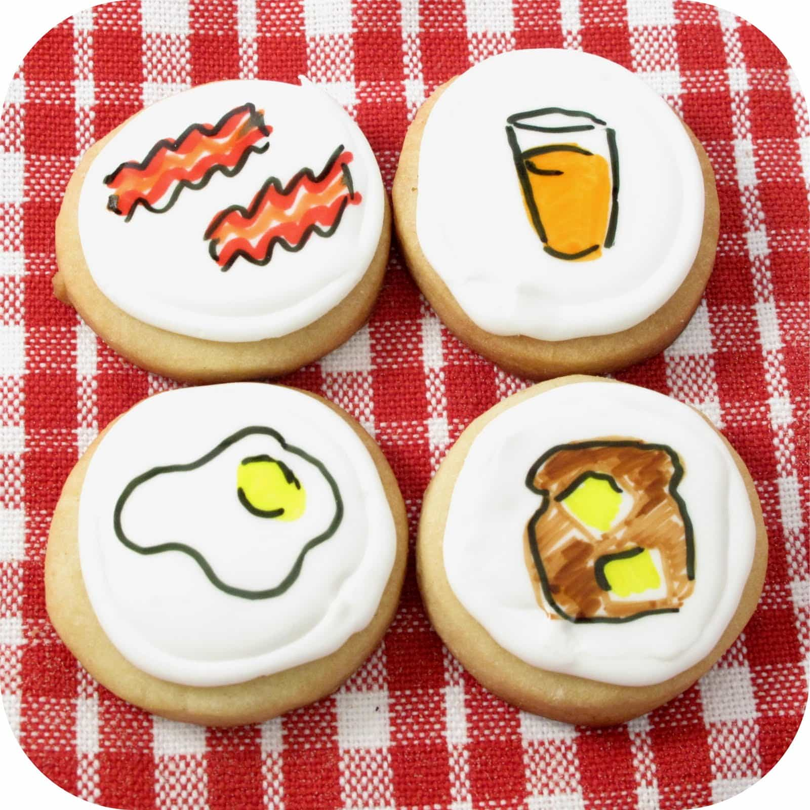 Home Decor Tip Breakfast Cookie Art The Decorated Cookie