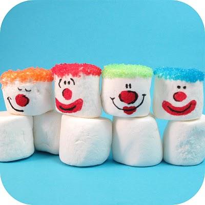 clown marshmallows