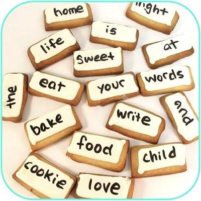 magnetic poetry kit cookies