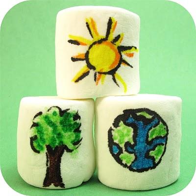 Earth Day marshmallows