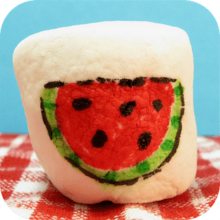 bbq marshmallows food art - the decorated cookie