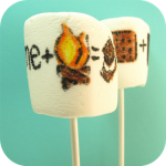 jumbo s'mores marshmallows - the decorated cookie