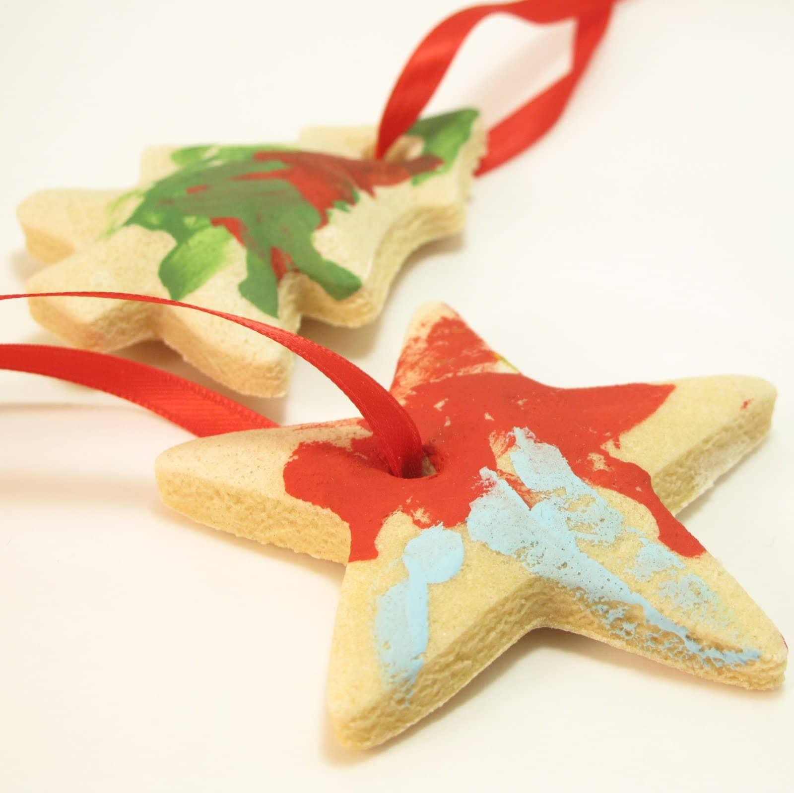Salt Dough Ornaments Recipe For DIY Kid-friendly Ornaments