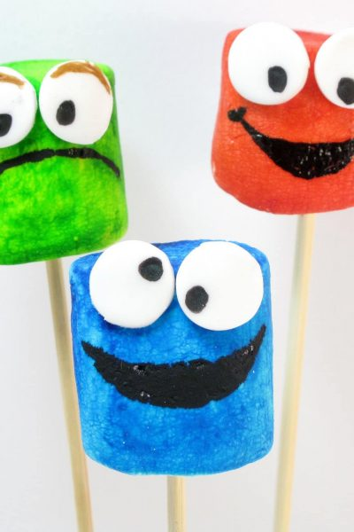 Sesame Street marshmallows