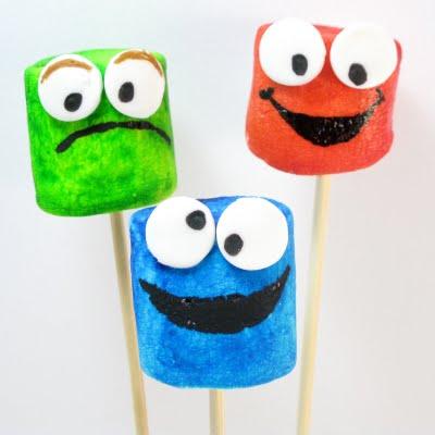 Sesame Street marshmallows