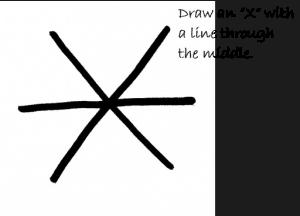 snowflake Oreos and snowman Oreos how to draw a snowflake