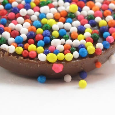 sprinkled chocolates