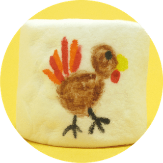 Thanksgiving marshmallows - turkey