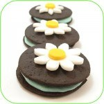 vegan daisy sandwich cookies