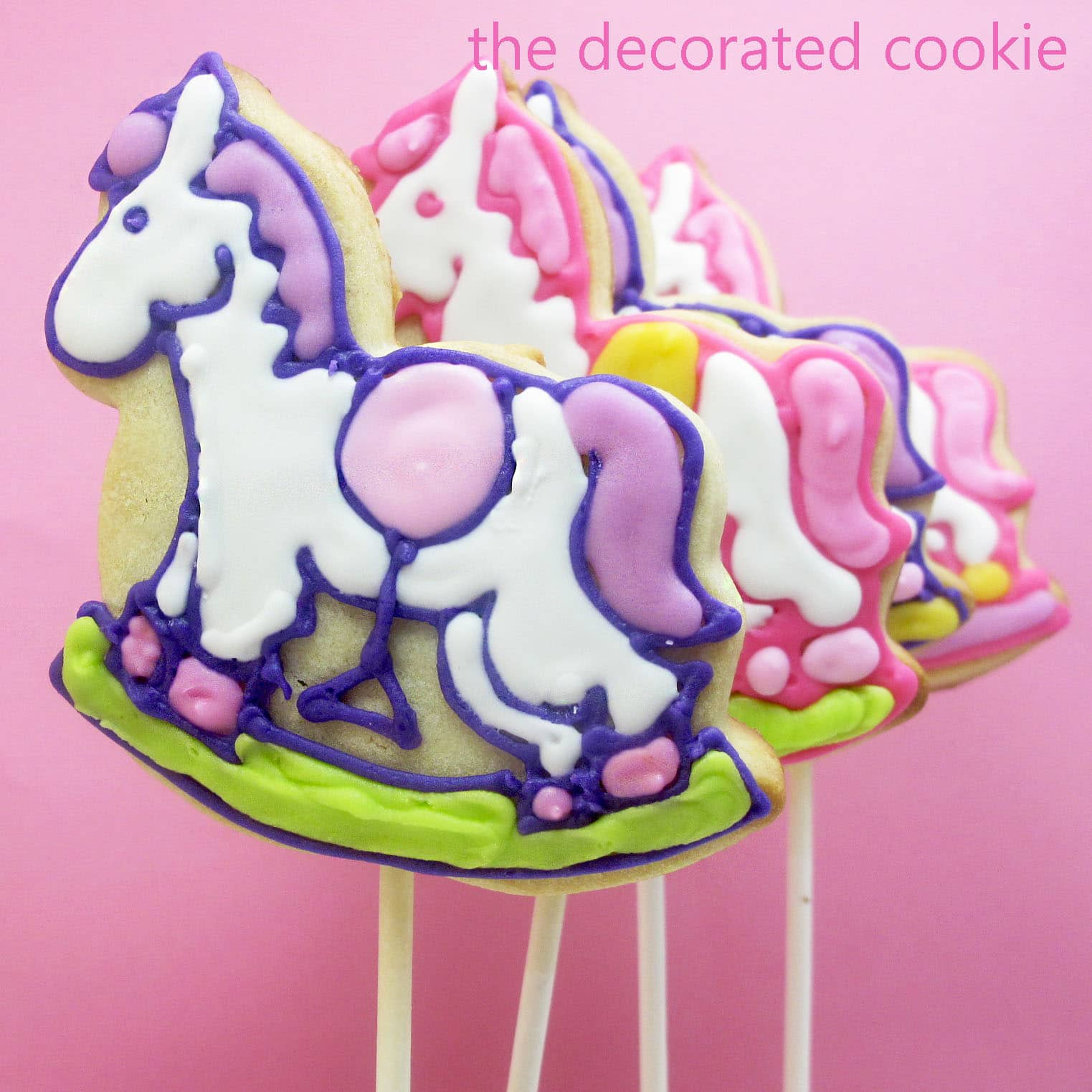 How To Decorate Baby Shower Cookies The Decorated Cookie