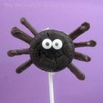 spider oreo cakester pop