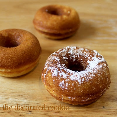 making doughnuts with the Babycakes Donut Maker