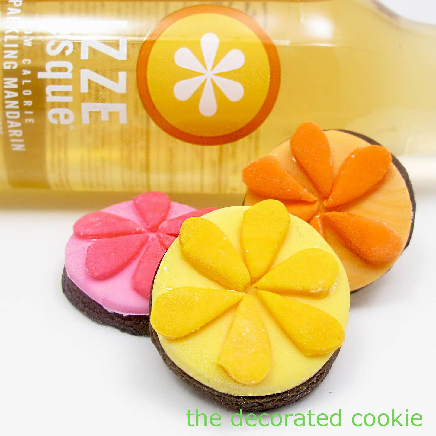 IZZE and some cookiesThe Decorated Cookie