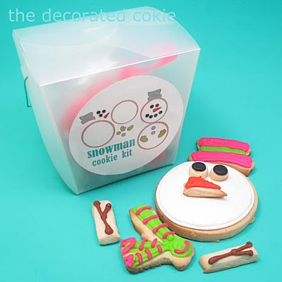 assemble-your-own-snowman cookie gift