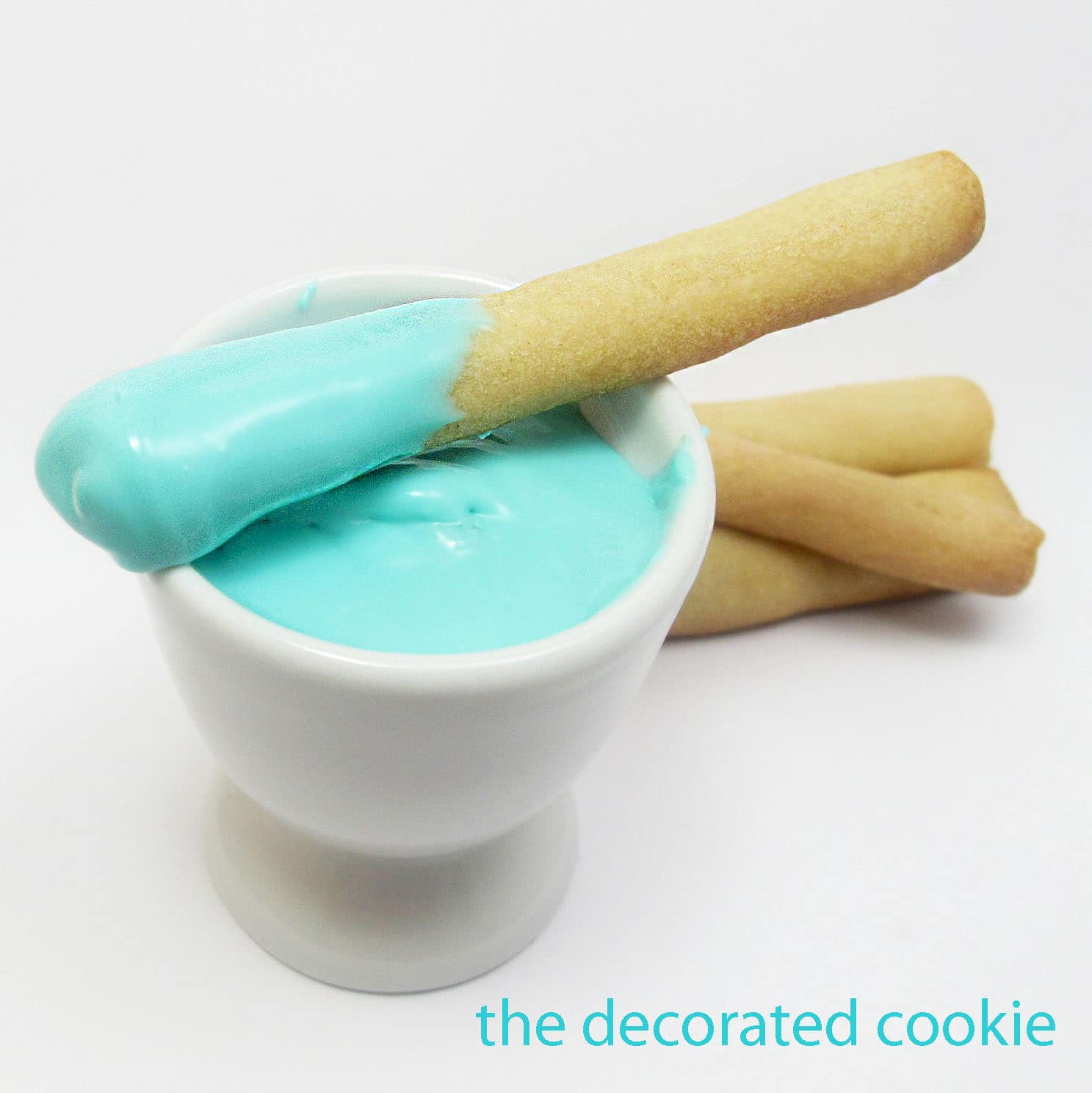 cookie sticks n' dip - The Decorated CookieThe Decorated Cookie