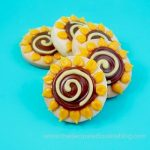sunflower cookie pops - the decorated cookie
