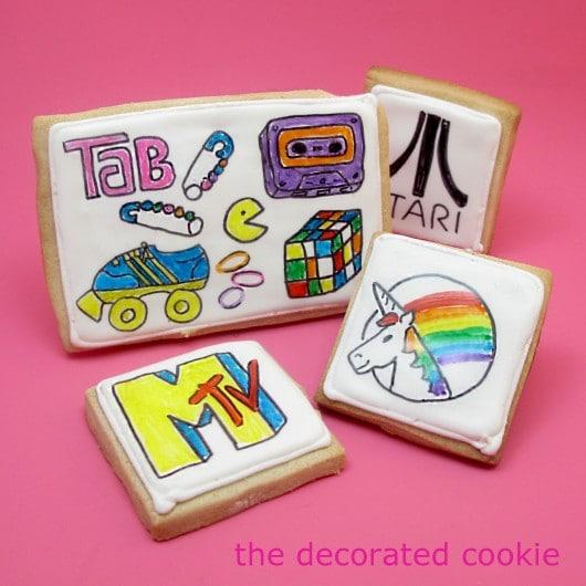 1980s cookies