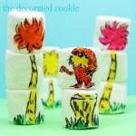 Dr. Seuss marshmallow art