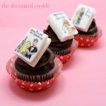 Harlequin romance novel cupcakes