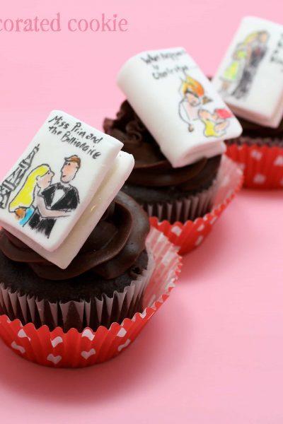 romance novel cupcakes