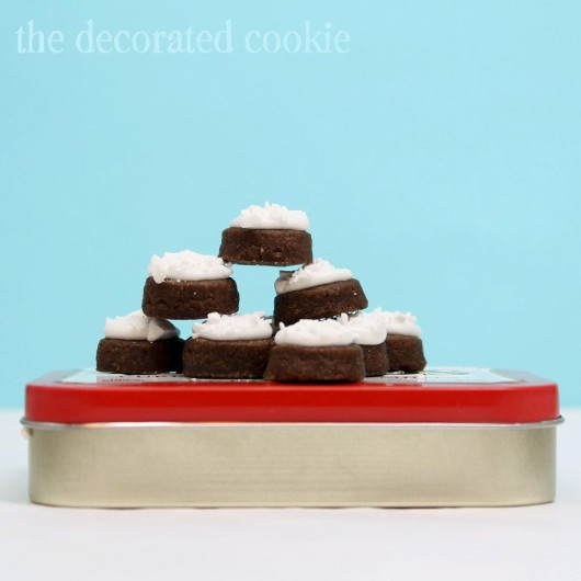 mint chocolate Altoids® cookies... with Wrigley candy