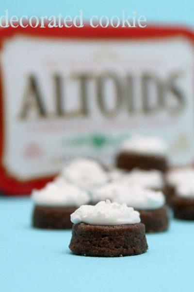 Altoids chocolate mint cookies
