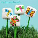 bug marshmallow pops