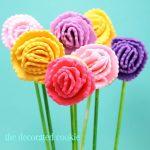carnation cookie pops