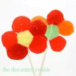 LifeSavers candy flower pops