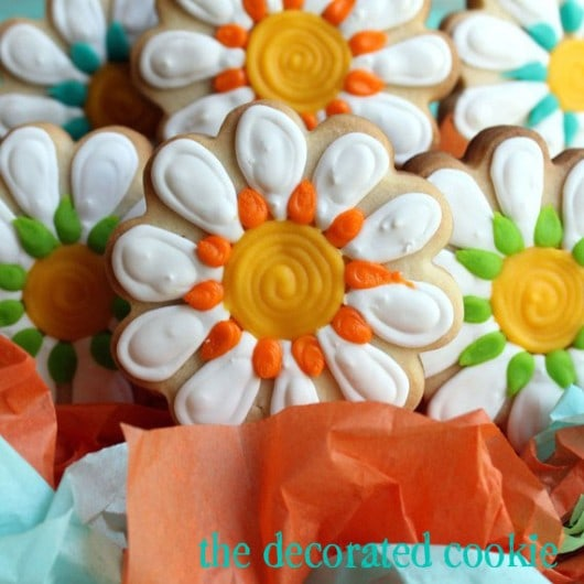 how to make a cookie arrangement