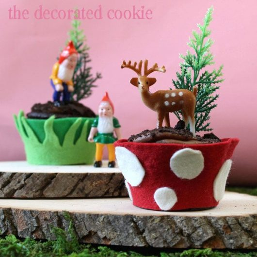 Deer Cake Decorations