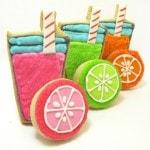 lemonade cookies - the decorated cookie