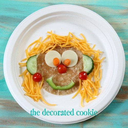 fun food activity for preschool kids making silly