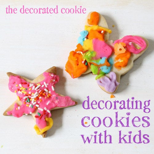 cookie decorating with kids