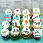 mini Olympics cupcakes