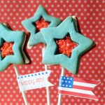 Pop Rocks star cookies