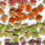 sparkly rainbow Chex