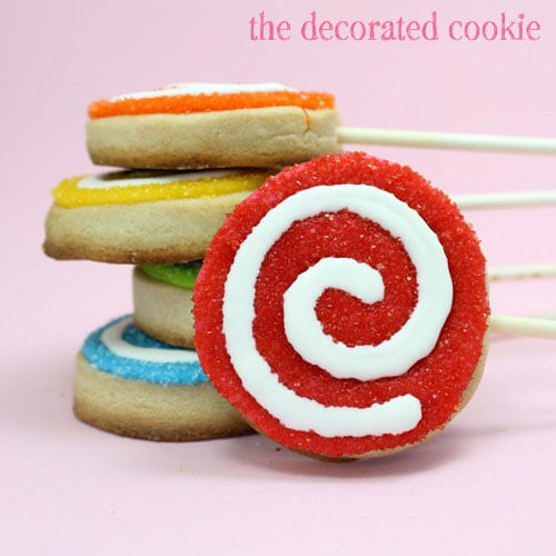 ... cookie pops and the recipe for best-ever cut-out cookiesThe Decorated