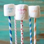 how to stamp marshmallows