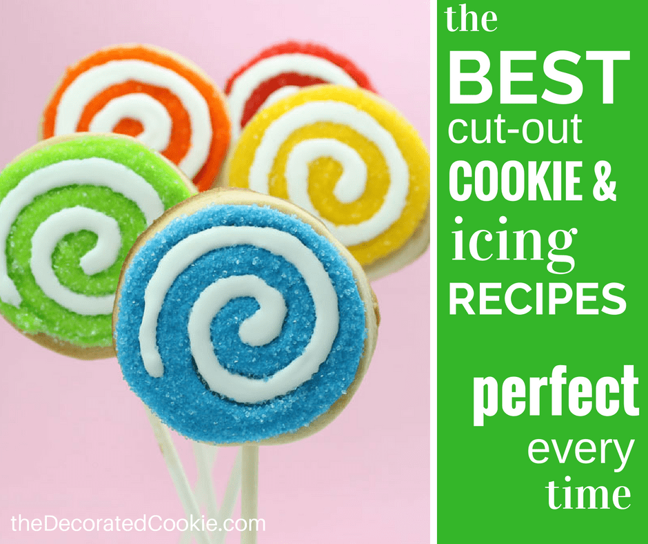the best ever cut-out cookie and royal icing recipes for cookie decorating