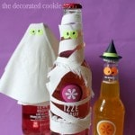 Halloween bottled drinks