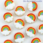 mini rainbow cookies