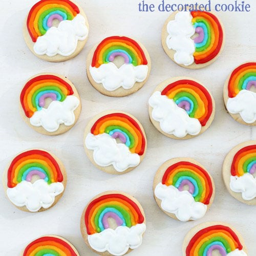 rainbow cookies, the New Jersey shore and SandyThe Decorated Cookie