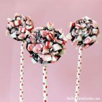 chocolate peppermint pops