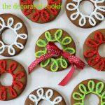 gingerbread cookie rings