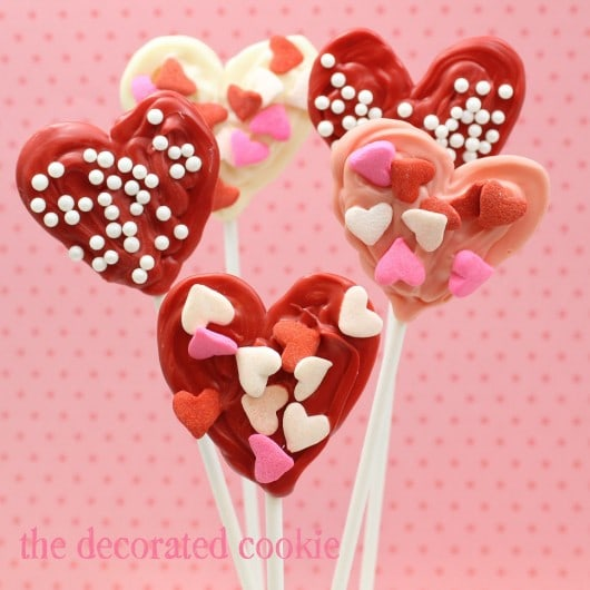 kid-friendly candy heart pops