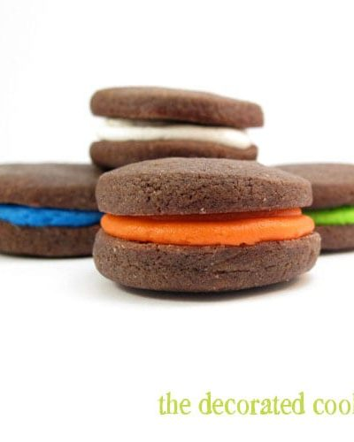 colorful sandwich cookies